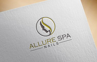 Allure Spa Nails Logo - Entry #154