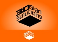 3D Sign Solutions Logo - Entry #164
