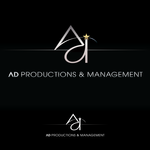 Corporate Logo Design 'AD Productions & Management' - Entry #131