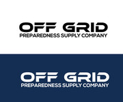 Off Grid Preparedness Supply Company Logo - Entry #58