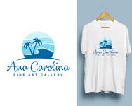 Ana Carolina Fine Art Gallery Logo - Entry #176