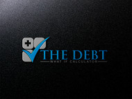 The Debt What If Calculator Logo - Entry #25