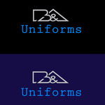 B&A Uniforms Logo - Entry #49