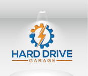 Hard drive garage Logo - Entry #145