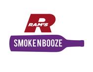 Rams Duty Free + Smoke & Booze Logo - Entry #283