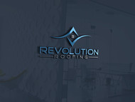 Revolution Roofing Logo - Entry #455