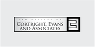 Law Office of Cortright, Evans and Associates Logo - Entry #9