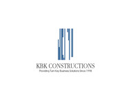 KBK constructions Logo - Entry #140