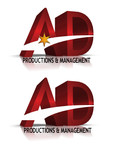 Corporate Logo Design 'AD Productions & Management' - Entry #126