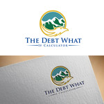 The Debt What If Calculator Logo - Entry #90