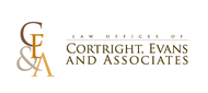 Law Office of Cortright, Evans and Associates Logo - Entry #22