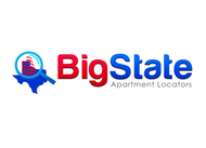 Big State Apartment Locators Logo - Entry #48