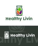 Healthy Livin Logo - Entry #437