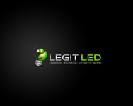 Legit LED or Legit Lighting Logo - Entry #205