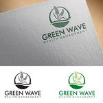 Green Wave Wealth Management Logo - Entry #312
