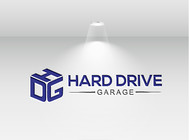 Hard drive garage Logo - Entry #182