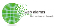 Logo for WebAlarms - Alert services on the web - Entry #113