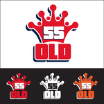 """""""OLD 55"""" - mid-century vintage furniture and wares store Logo - Entry #34"""