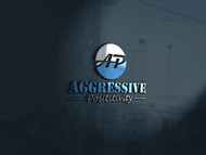 Aggressive Positivity  Logo - Entry #4