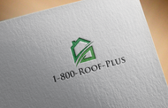 1-800-Roof-Plus Logo - Entry #93