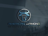 American Diamond Cattle Ranchers Logo - Entry #140