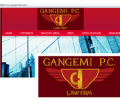 Law firm needs logo for letterhead, website, and business cards - Entry #125