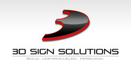 3D Sign Solutions Logo - Entry #182