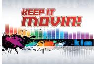 Keep It Movin Logo - Entry #286