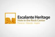 Escalante Heritage/ Hole in the Rock Center Logo - Entry #83