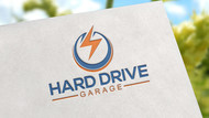 Hard drive garage Logo - Entry #134