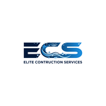 Elite Construction Services or ECS Logo - Entry #314