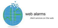Logo for WebAlarms - Alert services on the web - Entry #111