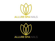 Allure Spa Nails Logo - Entry #31