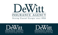 """""""DeWitt Insurance Agency"""" or just """"DeWitt"""" Logo - Entry #93"""