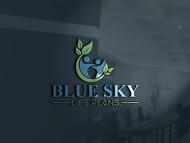 Blue Sky Life Plans Logo - Entry #17