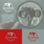 Watchman Surveillance Logo - Entry #174