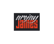 arejay james Logo - Entry #42