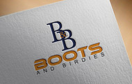 Boots and Birdies Logo - Entry #73