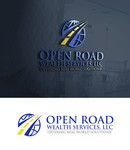 "Open Road Wealth Services, LLC  (The ""LLC"" can be dropped for design purposes.) Logo - Entry #63"