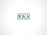 B&A Uniforms Logo - Entry #57