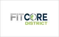FitCore District Logo - Entry #43