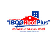 1-800-Roof-Plus Logo - Entry #62