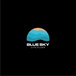 Blue Sky Life Plans Logo - Entry #1