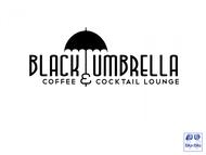 Black umbrella coffee & cocktail lounge Logo - Entry #2
