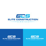 Elite Construction Services or ECS Logo - Entry #44
