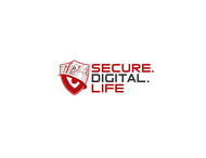 Secure. Digital. Life Logo - Entry #14