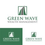 Green Wave Wealth Management Logo - Entry #201