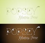 gluten free popsey  Logo - Entry #24