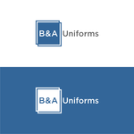 B&A Uniforms Logo - Entry #91