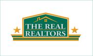 The Real Realtors Logo - Entry #98